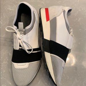 Balenciaga race runner sneakers.